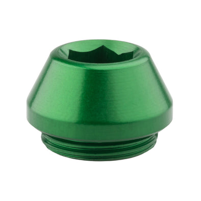 Wolf Tooth Rear Axle Cap Green
