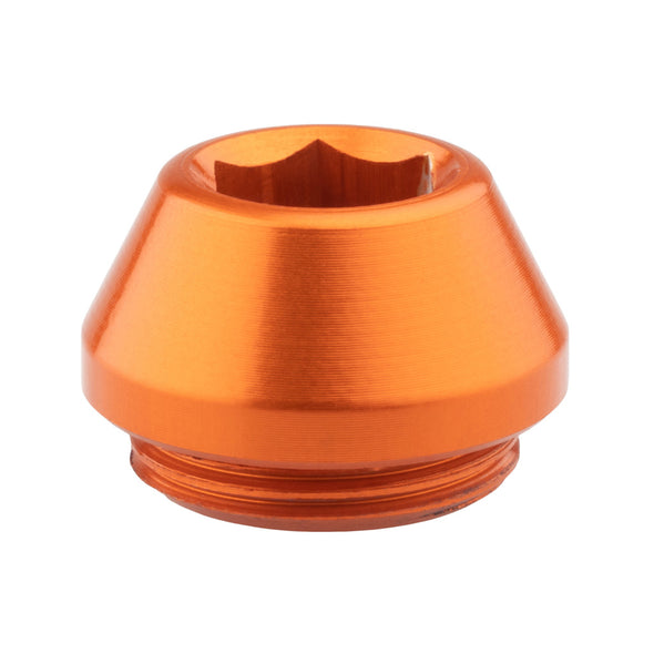Wolf Tooth Rear Axle Cap Orange