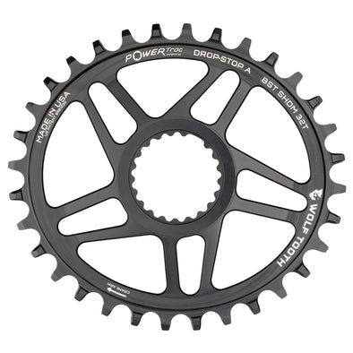Elliptical Direct Mount Chainrings for Shimano Cranks