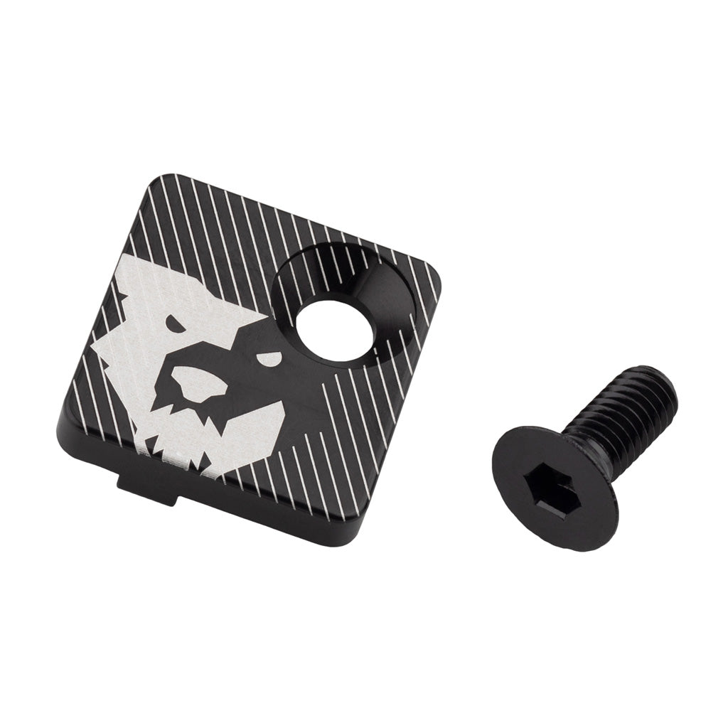 Wolf Tooth Components Direct Mount Front Derailleur Cover-Black-New