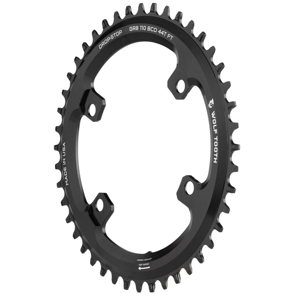 110 BCD Asymmetric 4-Bolt for Shimano GRX Cranks