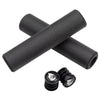 Wolf Tooth Karv grips 100% silicone Black and bar end plugs