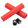Wolf Tooth Karv Cam ergonomic grips 100% silicone Red