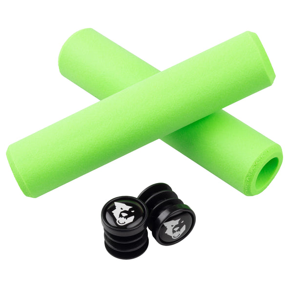 Wolf Tooth Razer grips 100% silicone Green