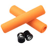Wolf Tooth Razer grips 100% silicone Orange