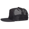 Wolf Tooth Logo 7 Panel Flat Bill Trucker Hat