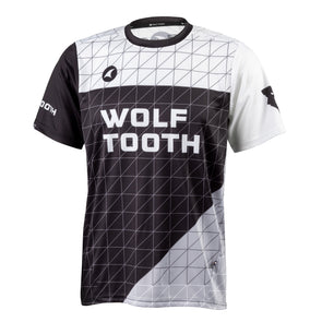 Wolf Tooth Matrix Trail Jersey, breathable, moisture-wicking, jersey, front view