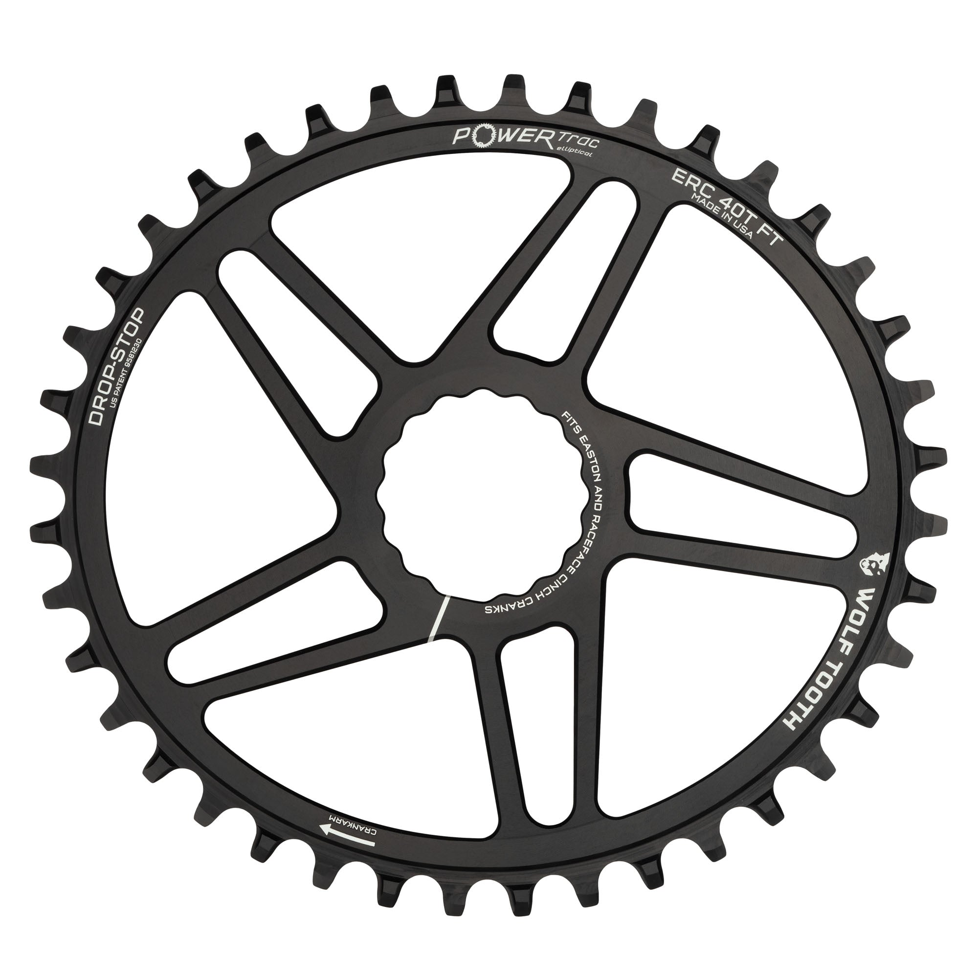 Easton  Direct Mount 50 Tooth Chainring Black
