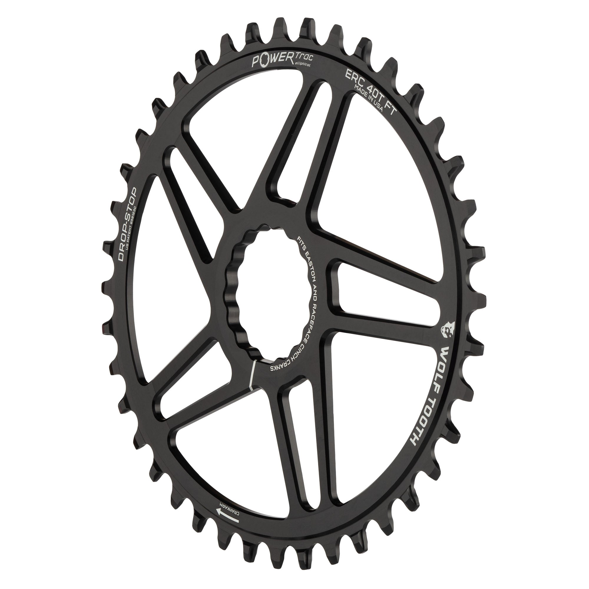 Black Easton Direct Mount 42 Tooth Chainring