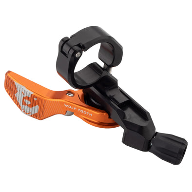 Wolf Tooth ReMote orange Clamp Dropper Lever