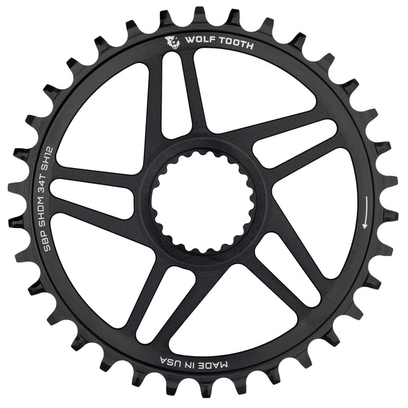 Direct Mount Chainrings for Shimano Cranks