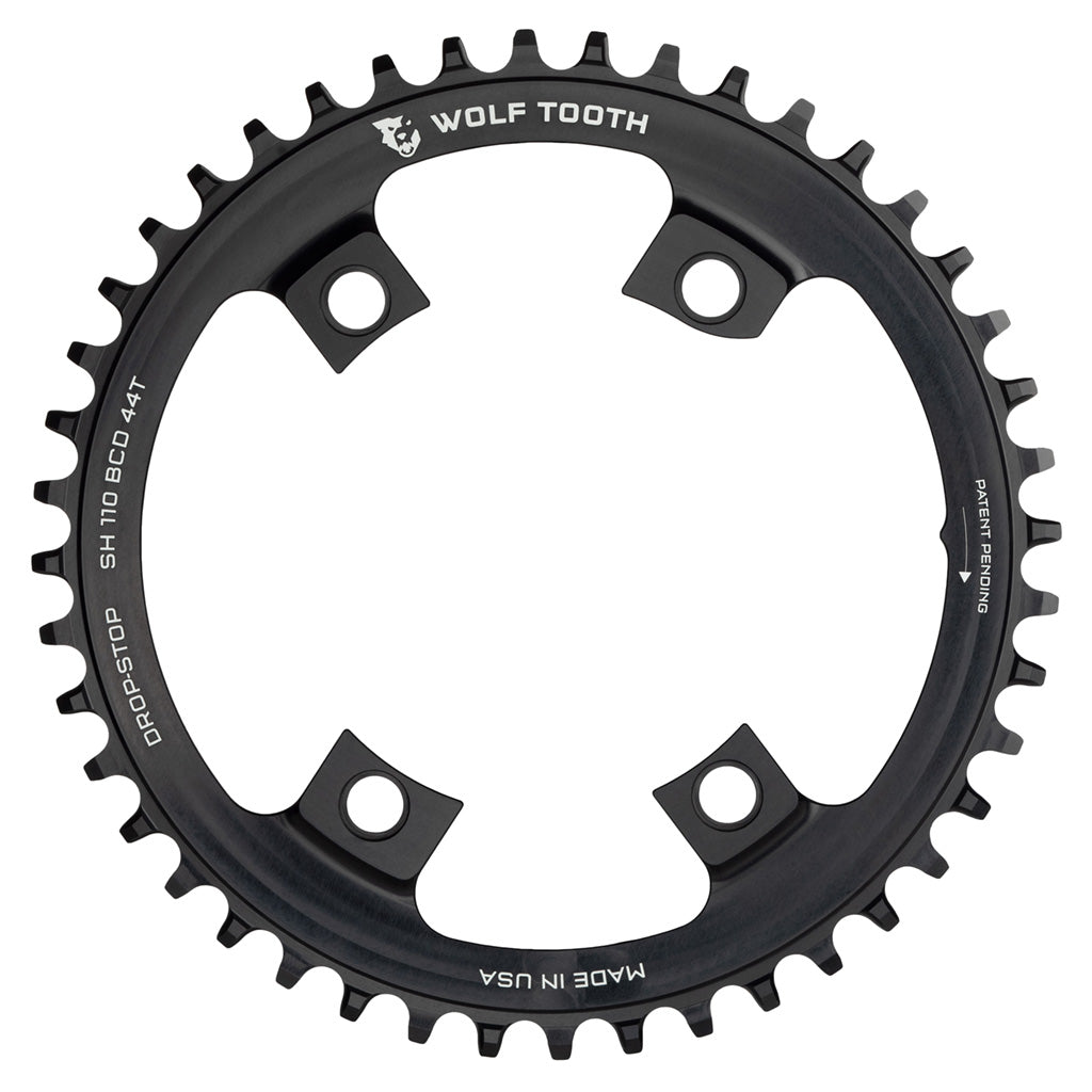Wolf Tooth Components 40T x 110mm Asymmetric 4-Bolt Chainring for SRAM Cranks