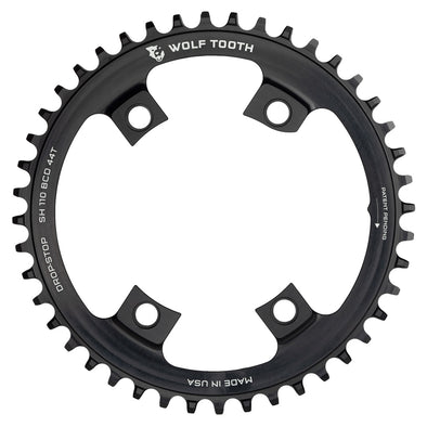 Wolf Tooth 110BCD 44t 4-bolt chainring for Shimano