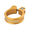 Wolf Tooth Seatpost clamp, seat post collar, gold