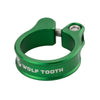 Wolf Tooth Seatpost clamp, seat post collar, green