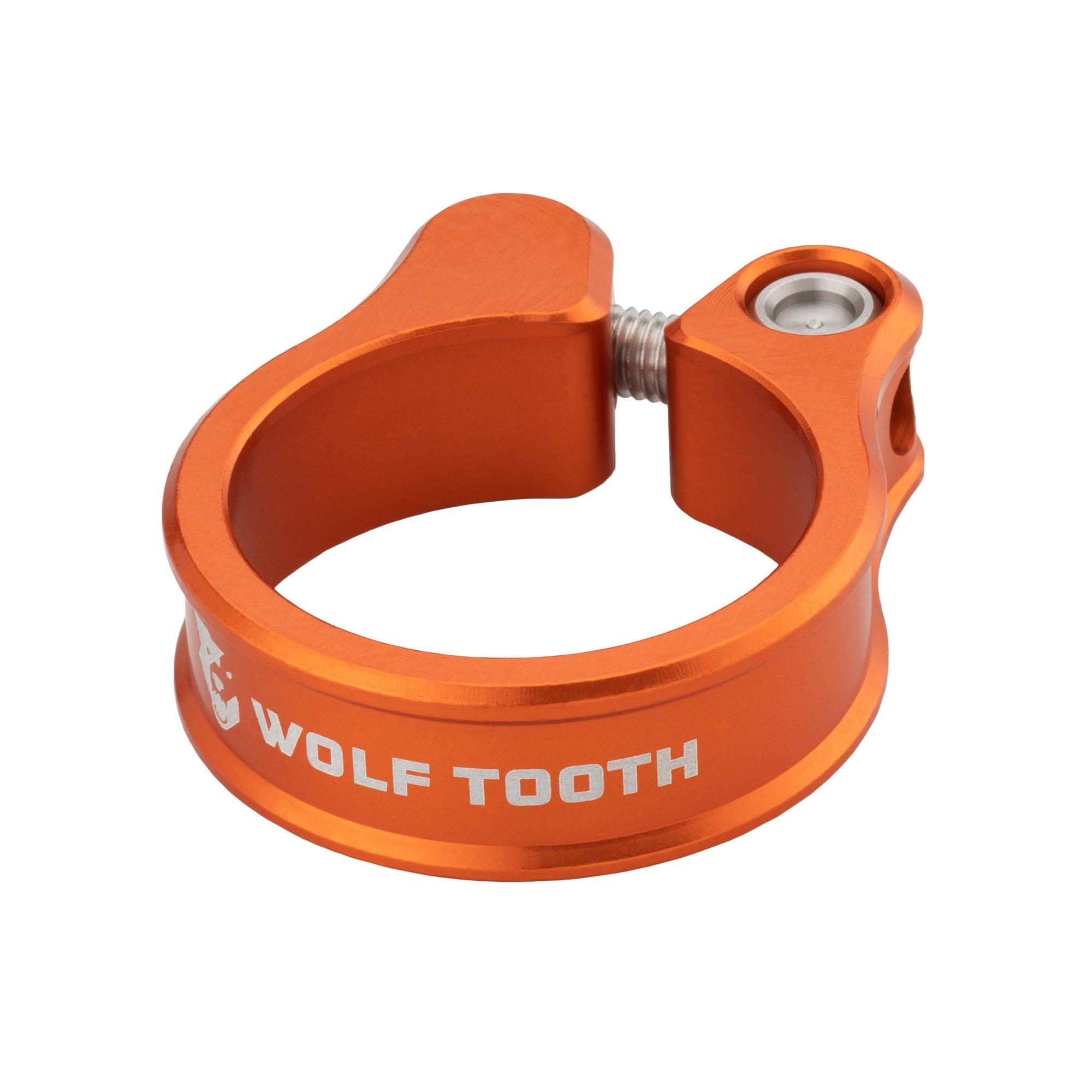 Wolf Tooth Precision-Machined Seatpost Clamp Green, 34.9//35mm
