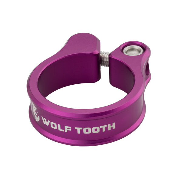 Wolf Tooth Seatpost clamp, seat post collar, purple