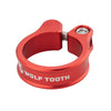 Wolf Tooth Seatpost clamp, seat post collar, red