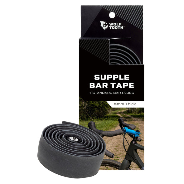 Wolf Tooth Supple Bar Tape for dropbars black