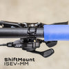 Wolf Tooth ShiftMount ISEV-MM mounts a Shimano I-SPEC EV shifter to a SRAM MatchMaker