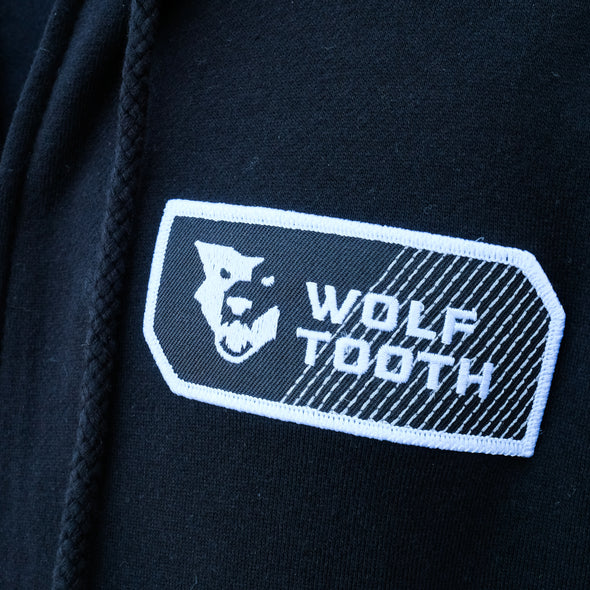 Wolf Tooth Patch Logo Zip Hoodie