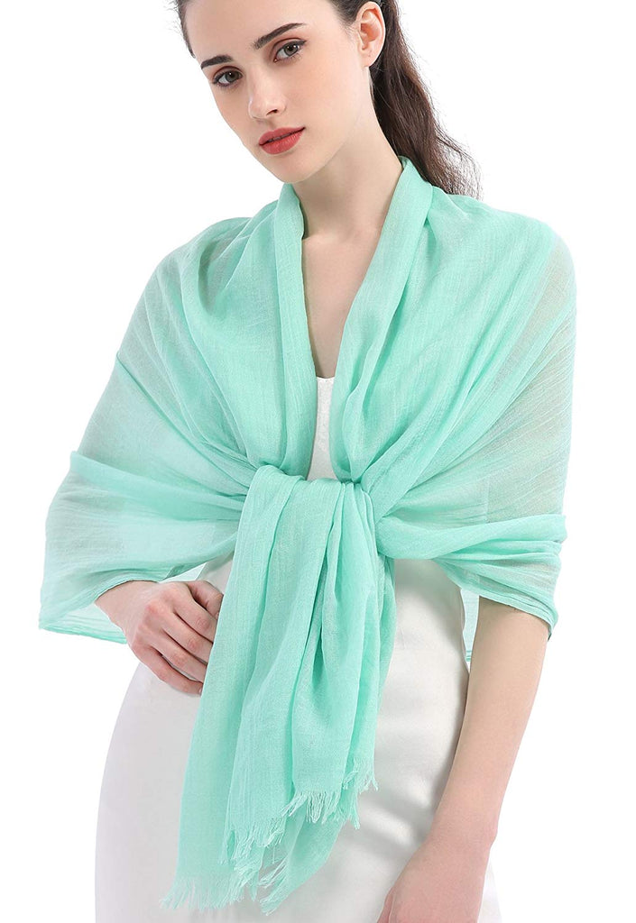 Women Extreme Soft Scarf Wrap Shawl For Any Season, Super Size, Rich Color Choice