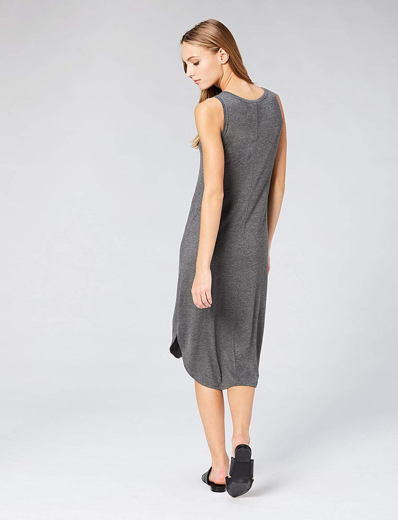 Ritual Women's Jersey Sleeveless V-Neck Dress