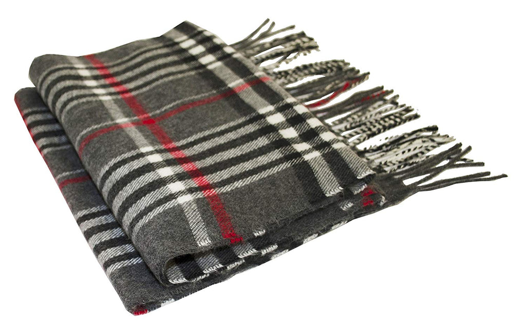 Beene Men's Scarf Cashmere Feel Made in Italy