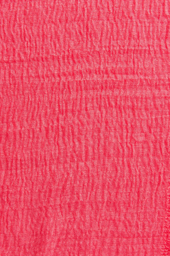 "Pink Solid Classic Fashion Scarf or Wrap - Stylish, Long, Lightweight, with Pashmina-Like Cotton Blend (38 x 70"")"