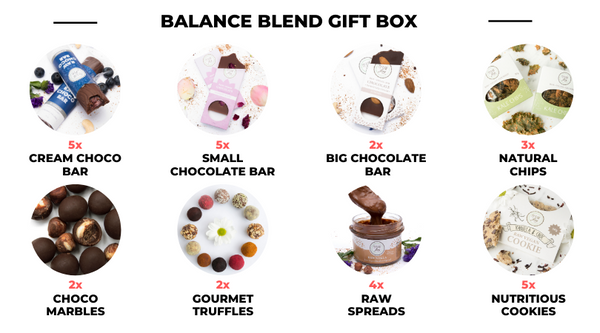 Balance Blend Gift Box - included