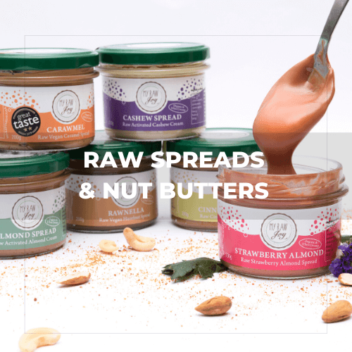 RAW SPREADS & NUT BUTTERS