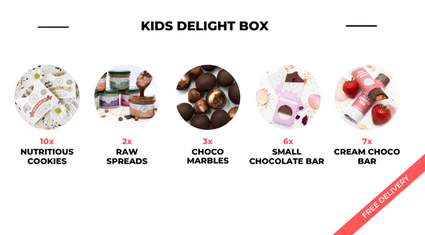 Kids delight box included in the box