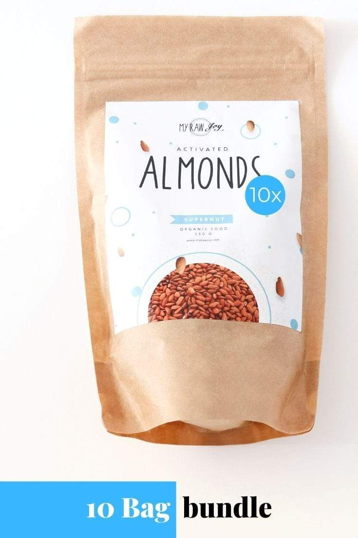 Activated Almond Supernut Bites SuperNut Bites MyRawJoy 10 bag bundle deal