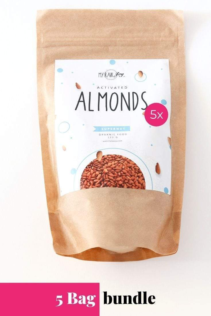 Activated Almond Supernut Bites SuperNut Bites MyRawJoy 5 bag bundle deal