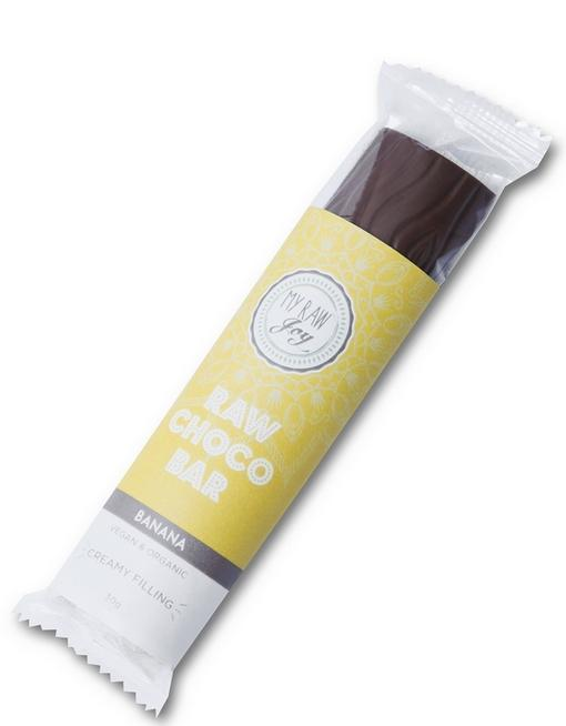 Cream Choco Bar - Banana Cream Cream Bars MyRawJoy