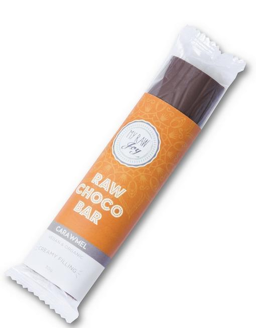 Cream Choco Bar - Caramel Cream Cream Bars MyRawJoy