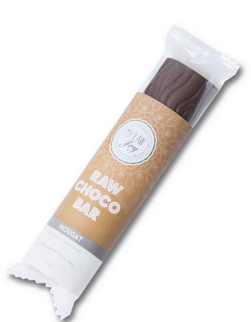 Cream Choco Bar - Nougat Cream Cream Bars MyRawJoy