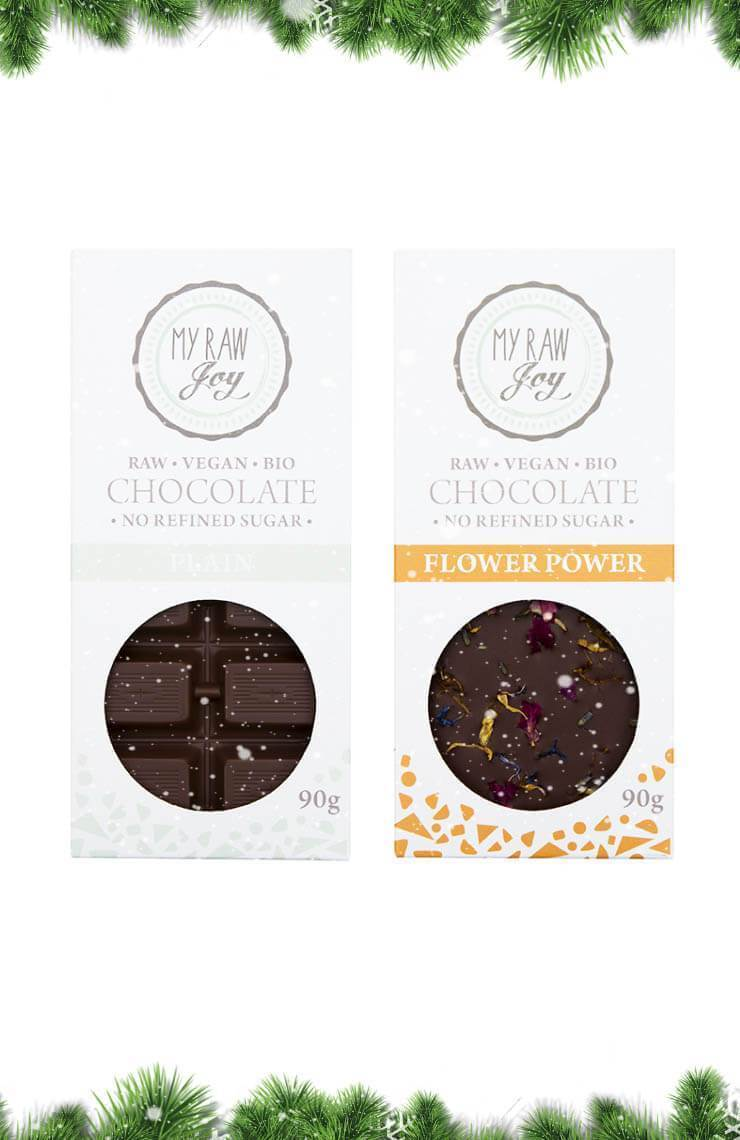 Premium Raw Chocolate Gift Box - Big Gift Boxes MyRawJoy