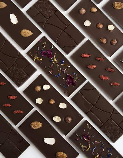 Raw Almond Chocolate - Big Raw Chocolates MyRawJoy