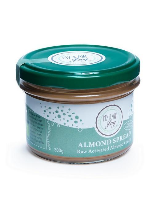 Raw Almond Spread Raw spreads & nutbutters MyRawJoy