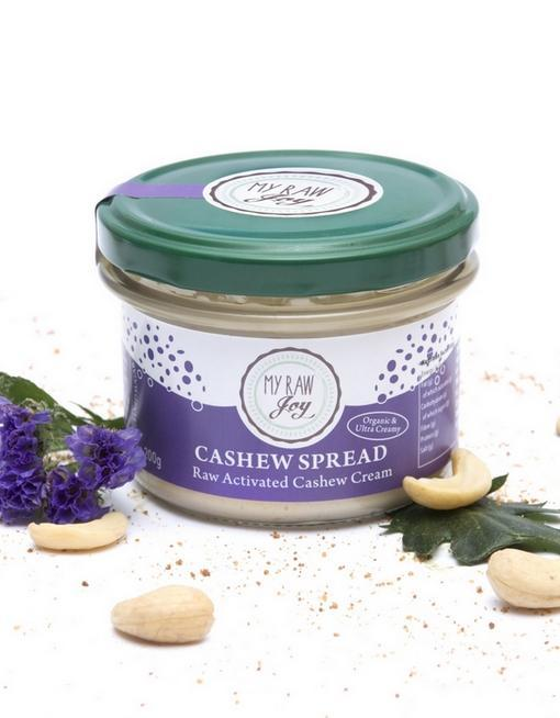 Raw Cashew Spread Raw spreads & nutbutters MyRawJoy