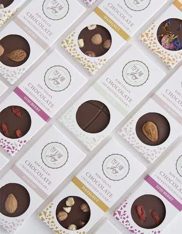 RAW CHOCOLATE BARS - FLAVOUR MIX BUNDLE Raw Chocolates MyRawJoy