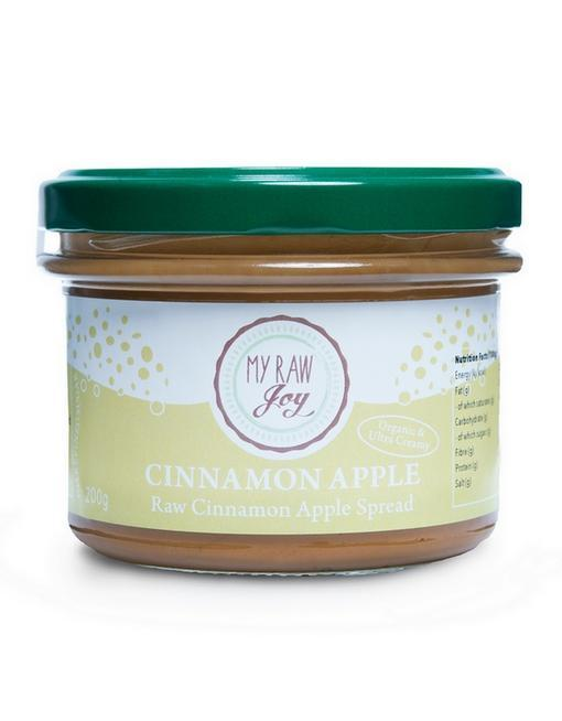 Raw Cinnamon Apple Spread Raw spreads & nutbutters MyRawJoy