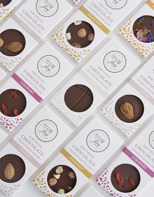 Raw Flower Power Chocolate - Small Raw Chocolates MyRawJoy