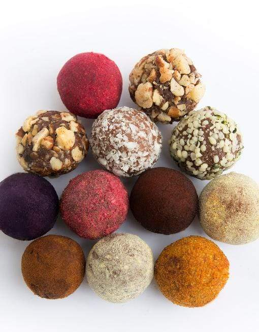 Raw Gourmet TRUFFLES - Strawberry-orange Mix Raw Gourmet Truffles MyRawJoy