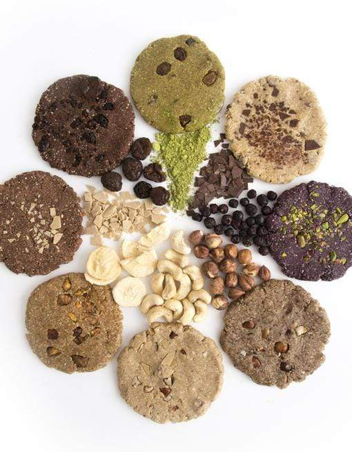 Raw Superfood Cookie - Sour Cherry & Cacao Nutritious Cookies MyRawJoy