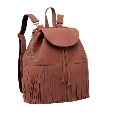 'Bella Charis' Alex Leather Backpack
