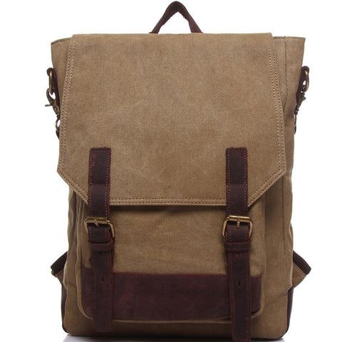 Carrie Canvas & Leather Backpack (4 colours)
