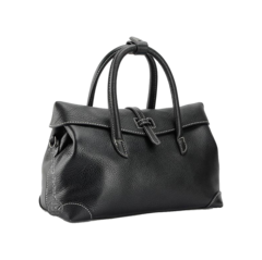 Bella Charis Edwina Black Leather Tote [3 colours]