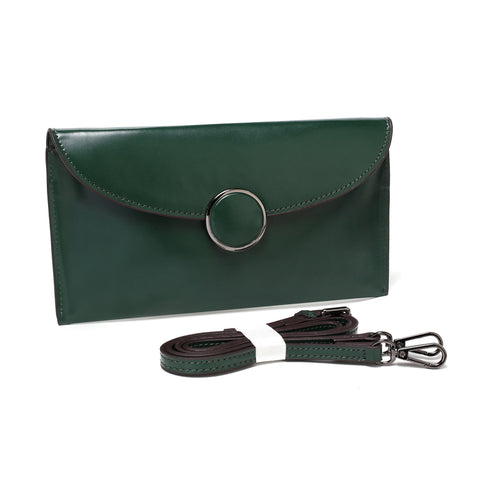 Bella Charis Jane Leather Clutch [7 colours]